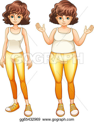 Thin girl clipart svg freeuse library Slim Clip Art - Royalty Free - GoGraph svg freeuse library