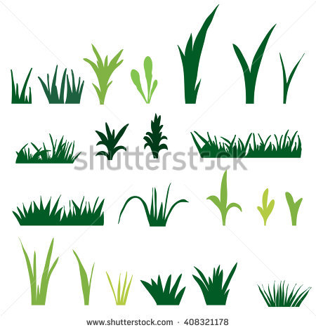 Thin grass clipart banner royalty free download Tufts Grass Stock Vector 369631271 - Shutterstock banner royalty free download