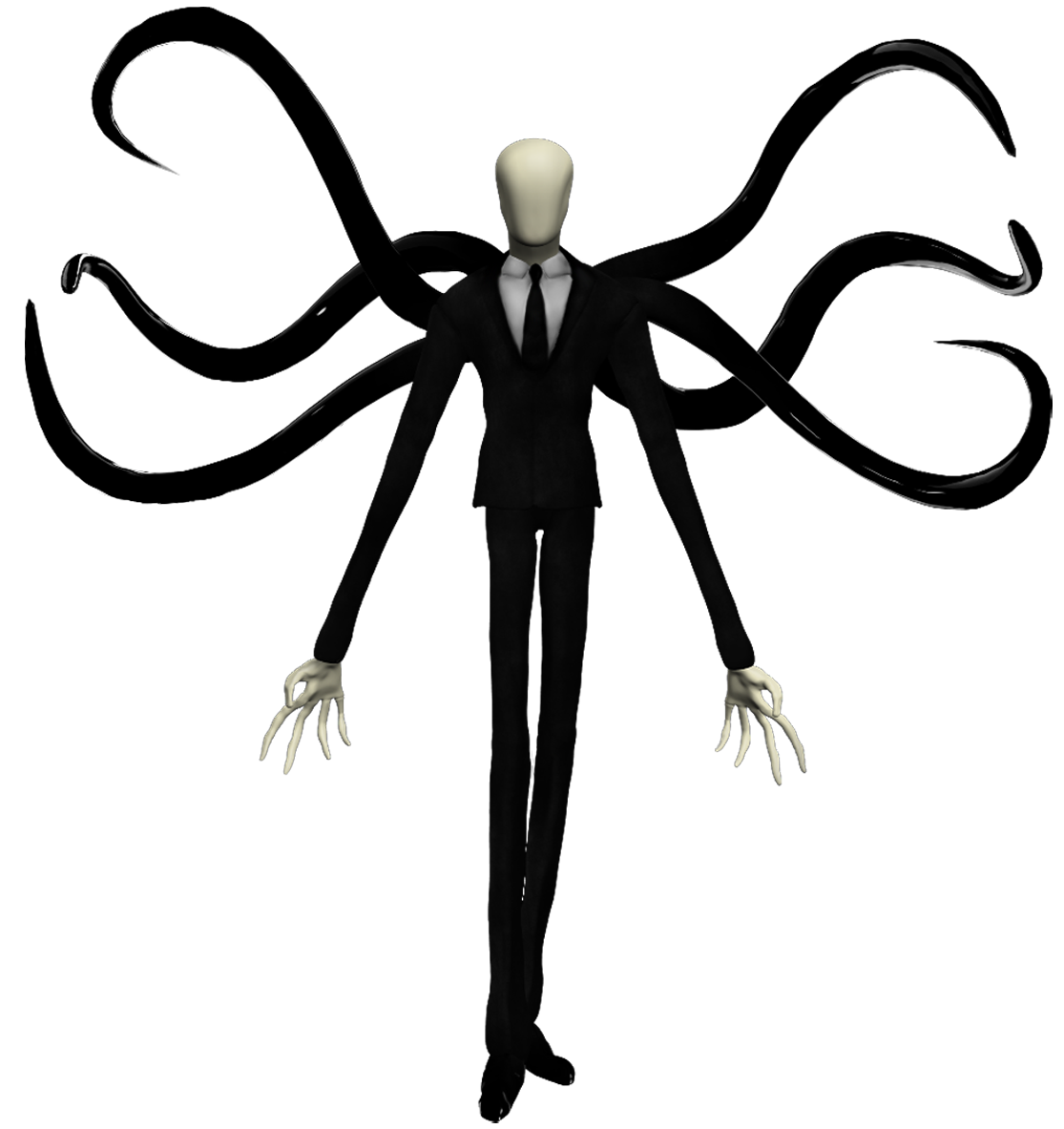 Halloween characters black and white clipart banner library download Slender Man | Fiction Wiki | FANDOM powered by Wikia banner library download