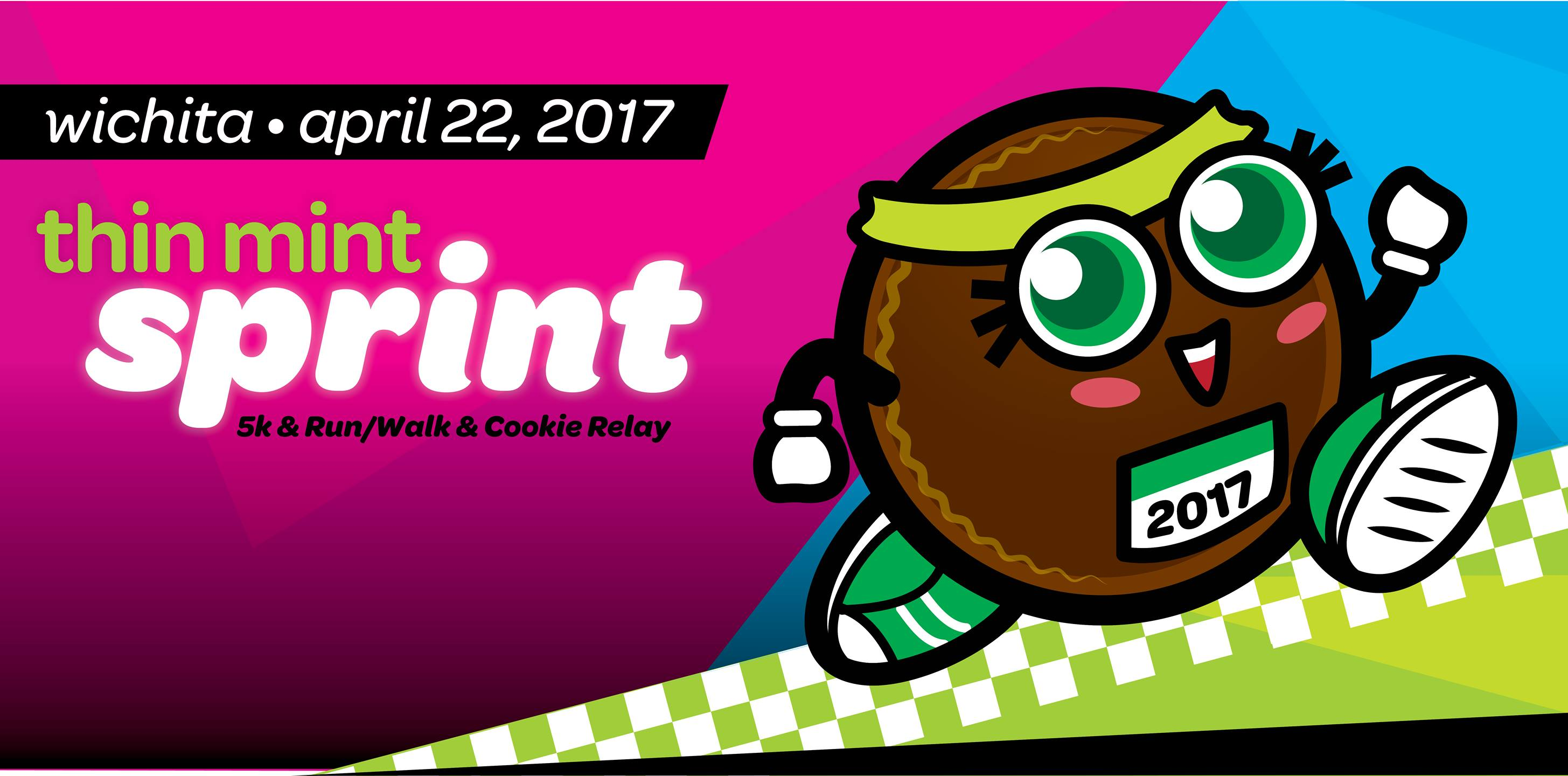 Thin mint character clipart svg library library Thin Mint Sprint 5K Walk/Run & Cookie Relay svg library library