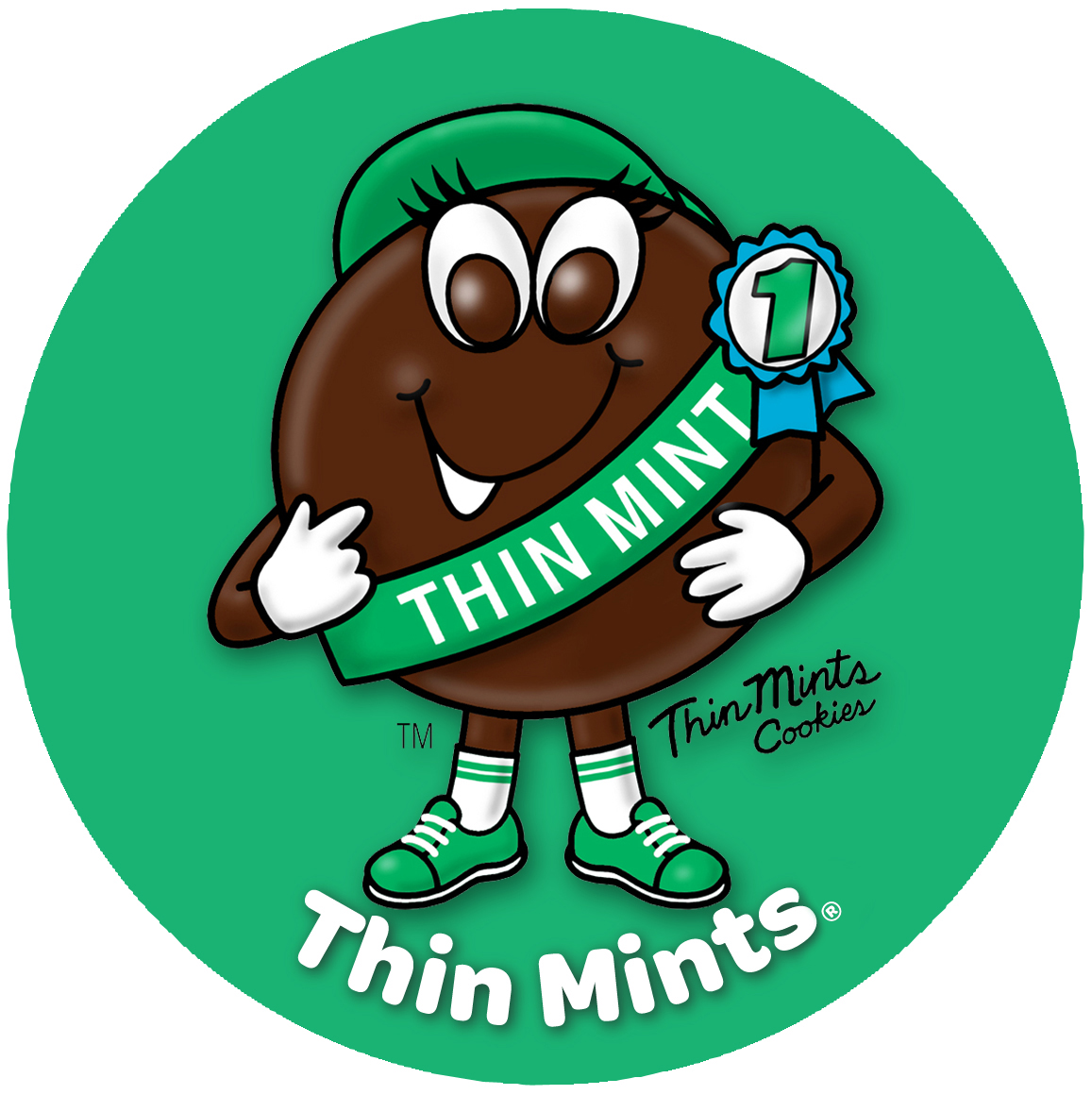 Thin mint character clipart banner library Gallery For > Thin Mint Clipart banner library