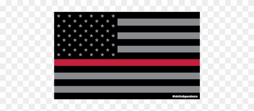 Thin red line clipart clip art library stock Smoked Thin Red Line American Flag - Police Flag Silhouette ... clip art library stock