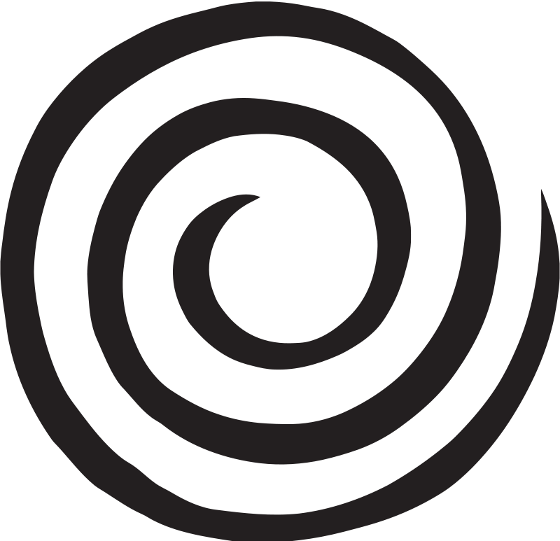 Thin swirl circle clipart graphic black and white library Swirl clipart circle for free download and use images in ... graphic black and white library