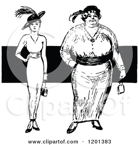 Thin woman clipart vector black and white library Thin clipart - ClipartFest vector black and white library