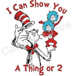 Thing 1 and thing 2 cat in the hat clipart graphic free library Gift #1: Even tho we're born different times, have different taste ... graphic free library