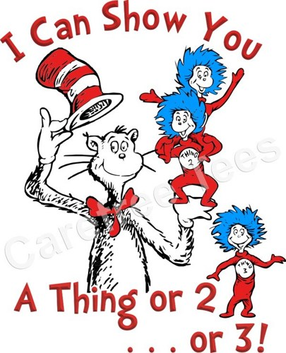 Thing 1 and thing 2 cat in the hat clipart image black and white Thing 1 And 2 Shirts Clipart - Clipart Kid image black and white