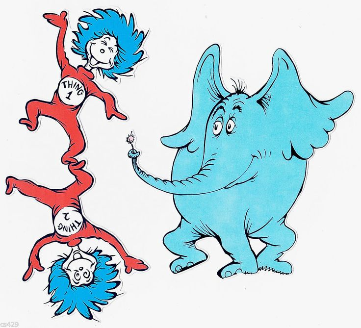 Thing 1 and thing 2 cat in the hat clipart clipart freeuse 17 Best images about DS Paper and Clip Art on Pinterest | World ... clipart freeuse