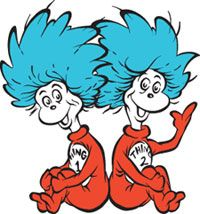 Thing 1 and thing 2 cat in the hat clipart transparent stock Thing 1 and thing 2 cat in the hat clipart - ClipartFest transparent stock