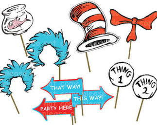 Thing 1 and thing 2 clip art png free stock Diy Thing 1 Thing 2 Printables - ClipArt Best png free stock