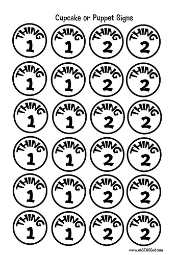 Thing 1 and thing 2 clip art image stock Thing 1 And Thing 2 Black And White Clipart - Clipart Kid image stock