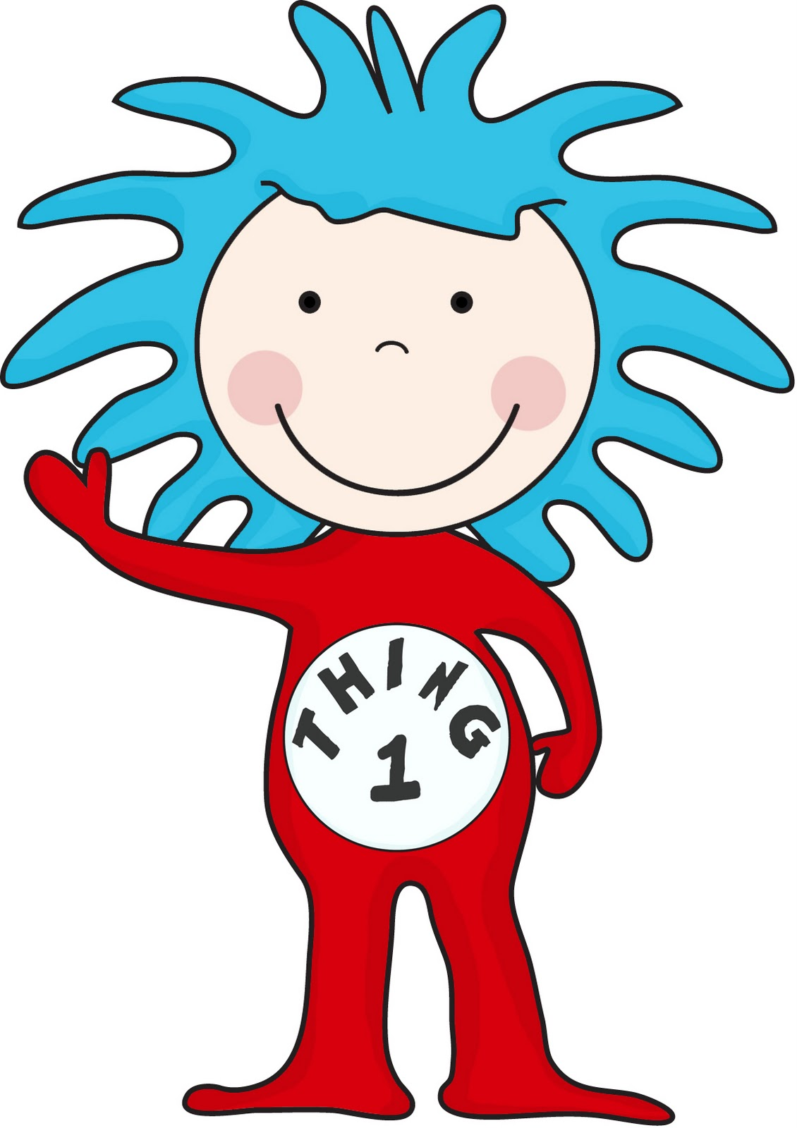 Thing 1 and thing 2 face free clipart vector download Thing 1 And Thing 2 Clipart | Free download best Thing 1 And ... vector download