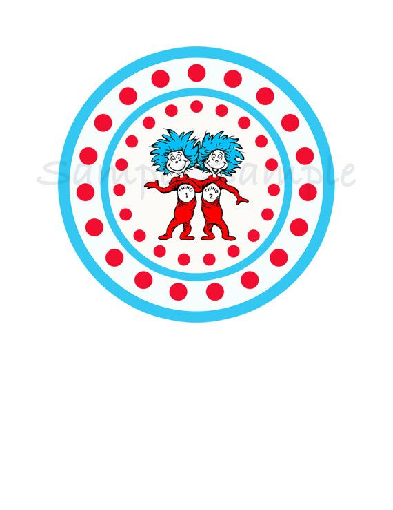 Thing 1 and thing 2 logo clipart clip art freeuse download 17 Best images about Thing 1 Thing 2 Birthday on Pinterest | Red ... clip art freeuse download