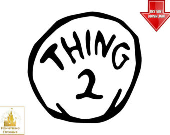 Thing 1 and thing 2 logo clipart clipart free download Thing 1 And 2 Shirts Clipart - Clipart Kid clipart free download