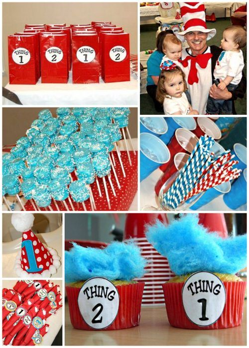 Thing 1 boy and thing 2 girl clipart clip transparent stock 17 Best ideas about Twin Birthday Themes on Pinterest | Thomas ... clip transparent stock