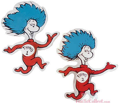 Thing 1 thing 2 clip art banner royalty free library 1000+ images about Dr. Seuss on Pinterest | Removable wall, Hats ... banner royalty free library