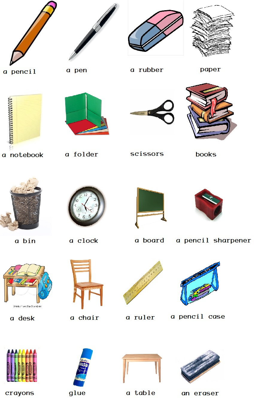 Things in the classroom clipart jpg library download Things in the classroom clipart 9 » Clipart Station jpg library download