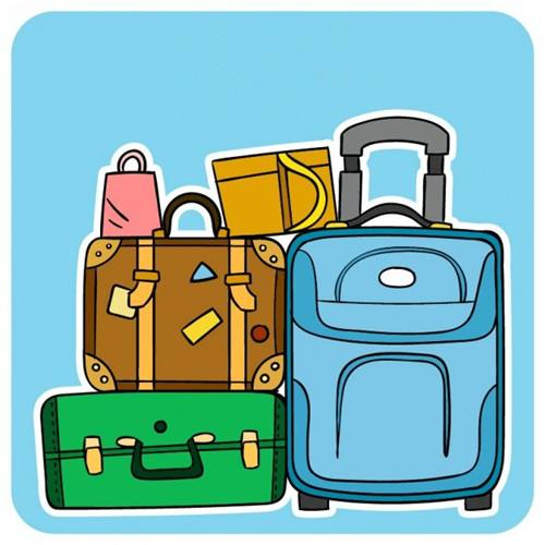 Things that go in a luggage clipart freeuse 5 Things about Your Study Abroad Packing List in China ... freeuse
