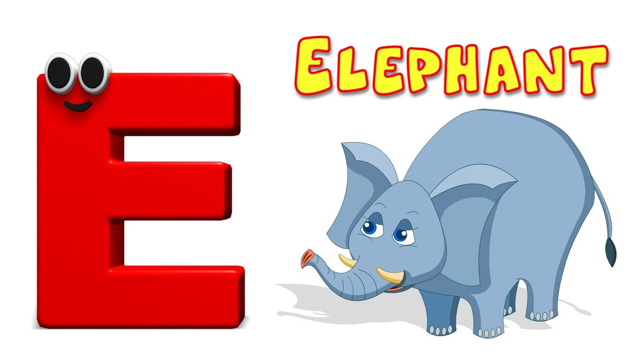 Things the look like the letter e clipart clip royalty free download Phonics Letter- E | Learning Alphabets For Toddlers | Kids Tv Nursery  Rhymes For Children clip royalty free download