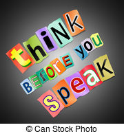 Think before you speak clipart royalty free stock Think before you speak Clip Art and Stock Illustrations. 21 ... royalty free stock