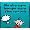 Think before you speak clipart clip art Image download: Think Before | Christart.com clip art