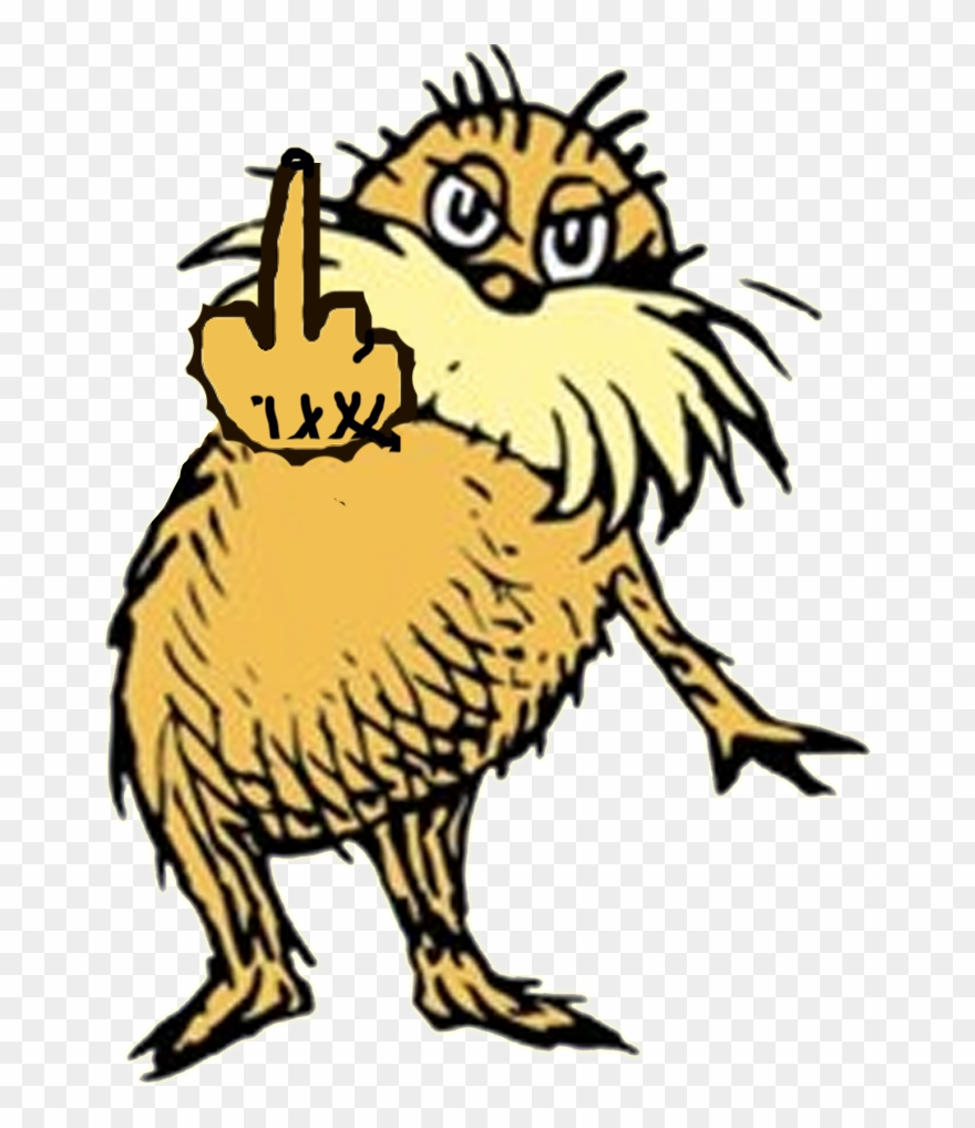 Think before you speak clipart graphic transparent stock I Am The Lorax, Once Again, I Speak For The Trees, - Birds ... graphic transparent stock