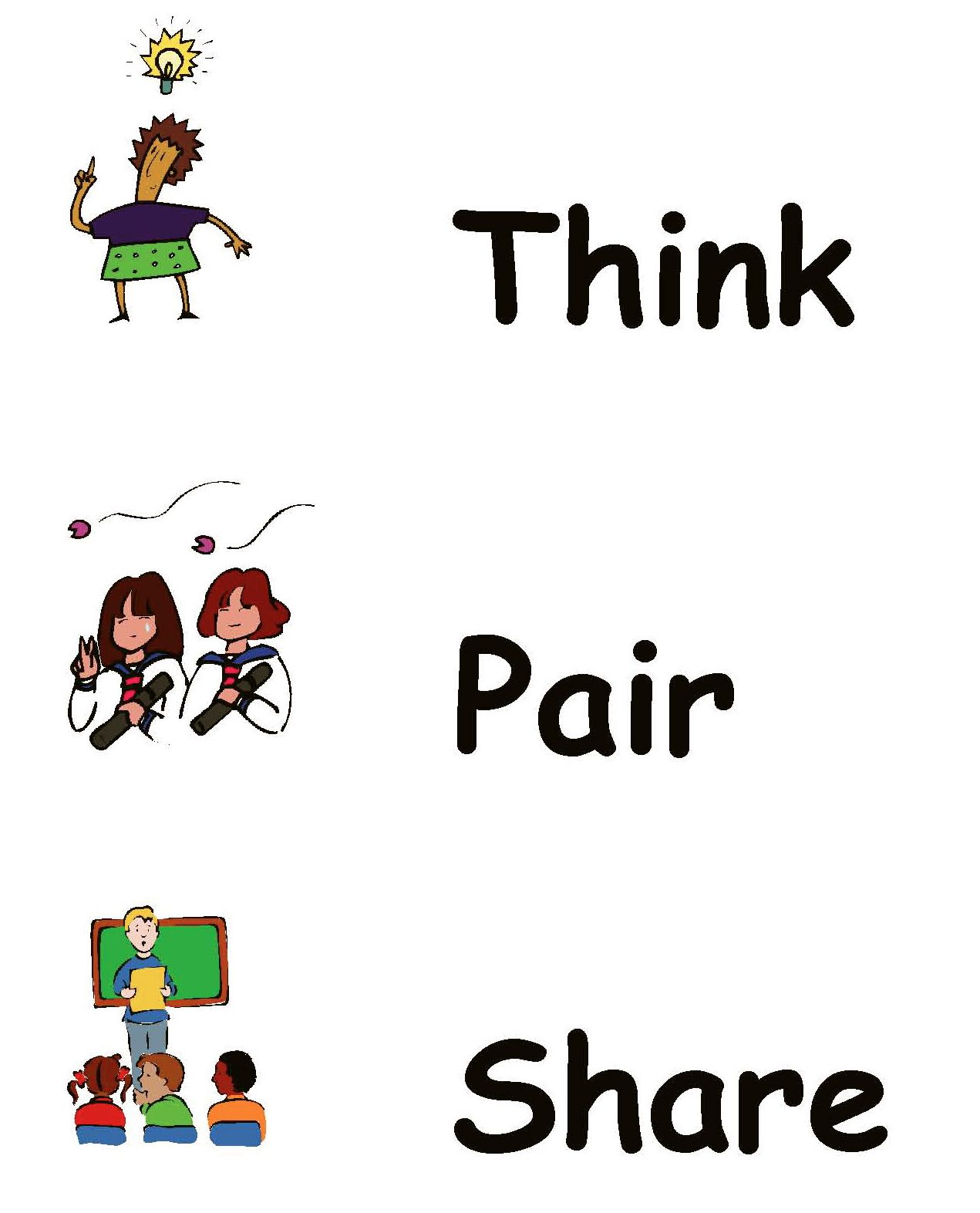 Think pair share clipart clip royalty free Think Pair Share Clipart (104+ images in Collection) Page 1 clip royalty free
