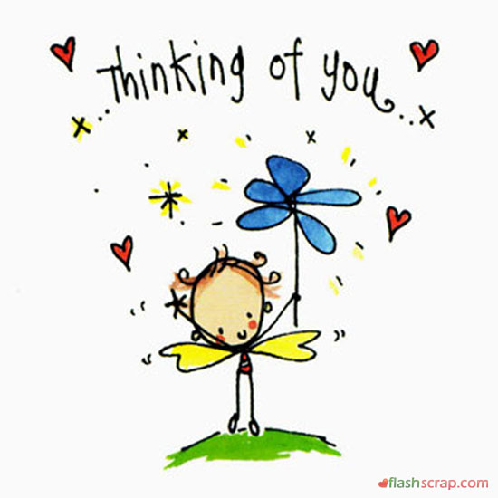 Thinking about you clipart graphic free library Thinking of you clipart free 6 » Clipart Station graphic free library
