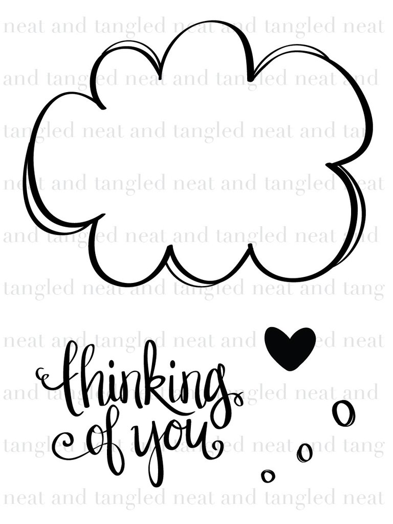 Thinking about you clipart png library Thinking Of You Clipart 22 - 768 X 1024 - Making-The-Web.com png library