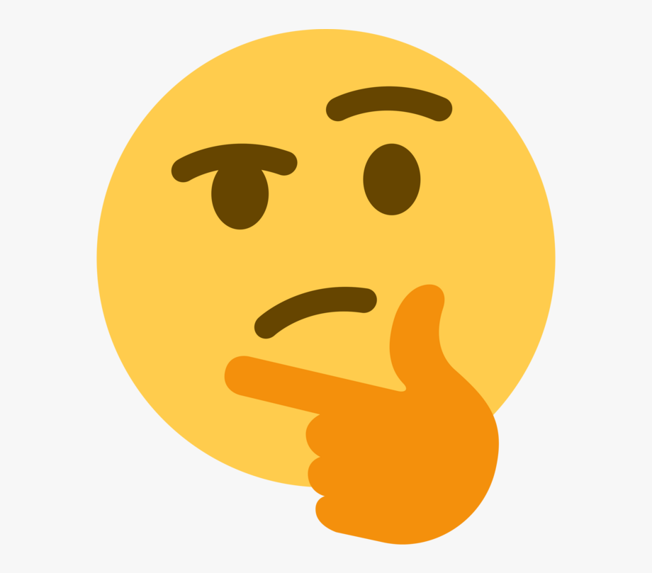 Thinking emoji clipart no background clip royalty free Download Left Handed - Thinking Emoji Transparent Background ... clip royalty free