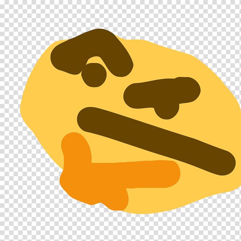 Thinking emoji clipart no background clip black and white stock Emoji illustration, Emoji Emoticon Thought Smiley Sticker ... clip black and white stock