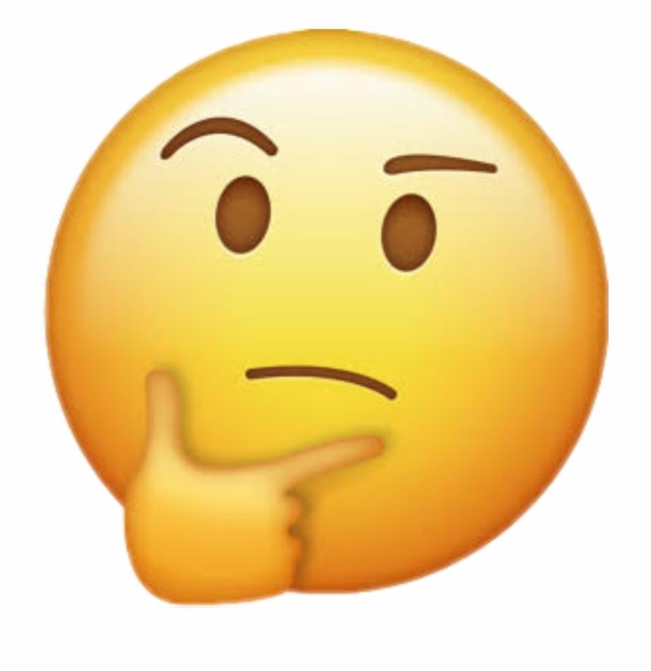 Thinking emoji clipart no background clip art royalty free Hmm Sticker - Thinking Emoji No Background - hmm emoji png ... clip art royalty free
