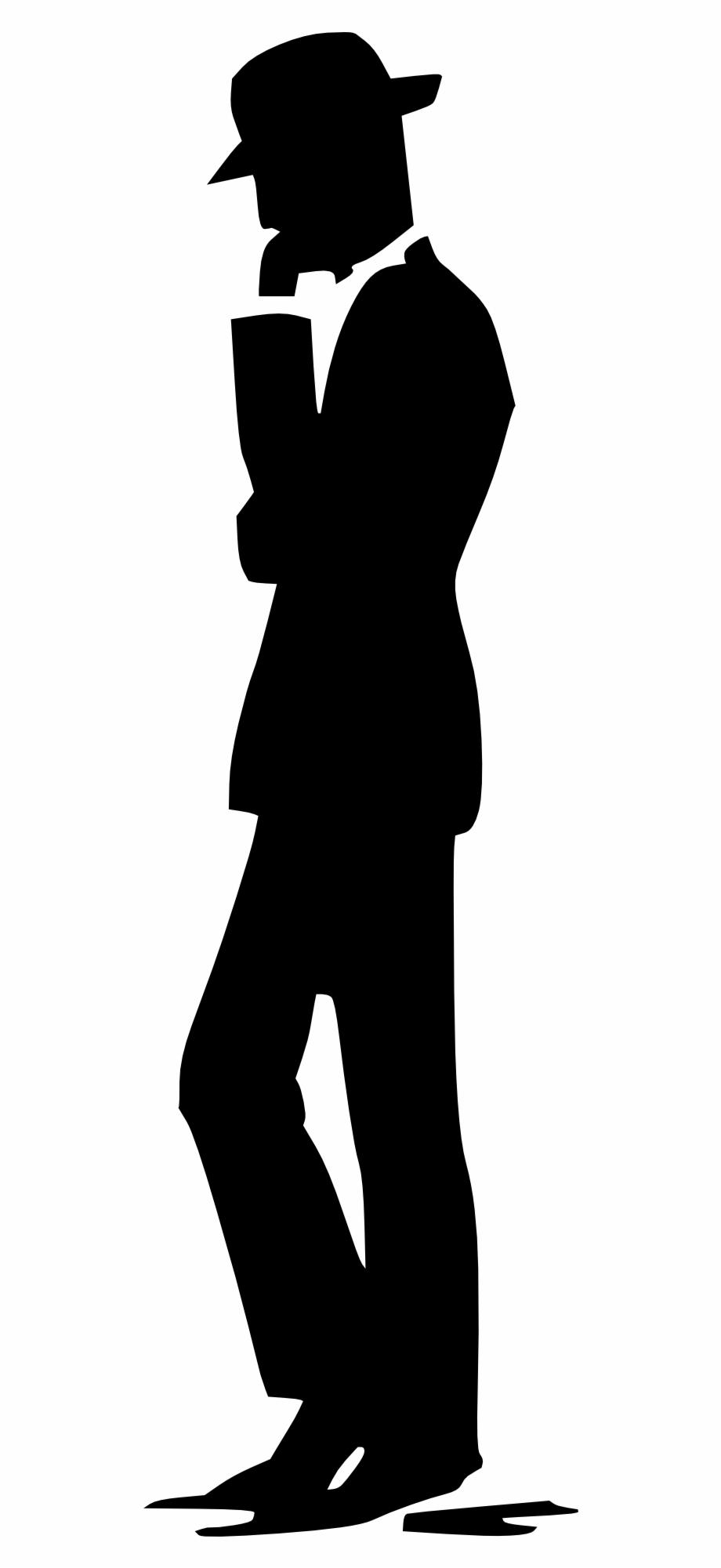 Thinking man silhouette free clipart banner library stock Thinking People Man Guy Png Image - Man Silhouette Drawing ... banner library stock
