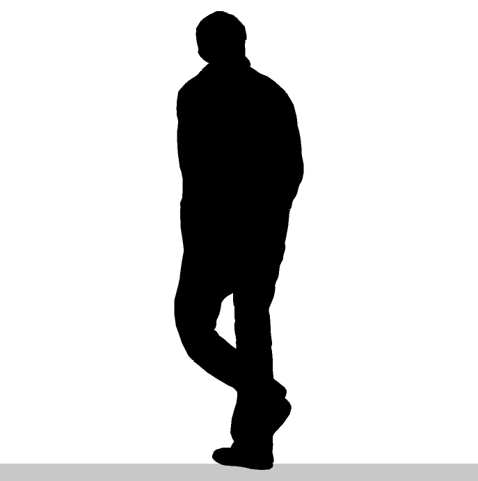 Thinking man silhouette free clipart clipart freeuse Free Silhouette Of Man, Download Free Clip Art, Free Clip ... clipart freeuse