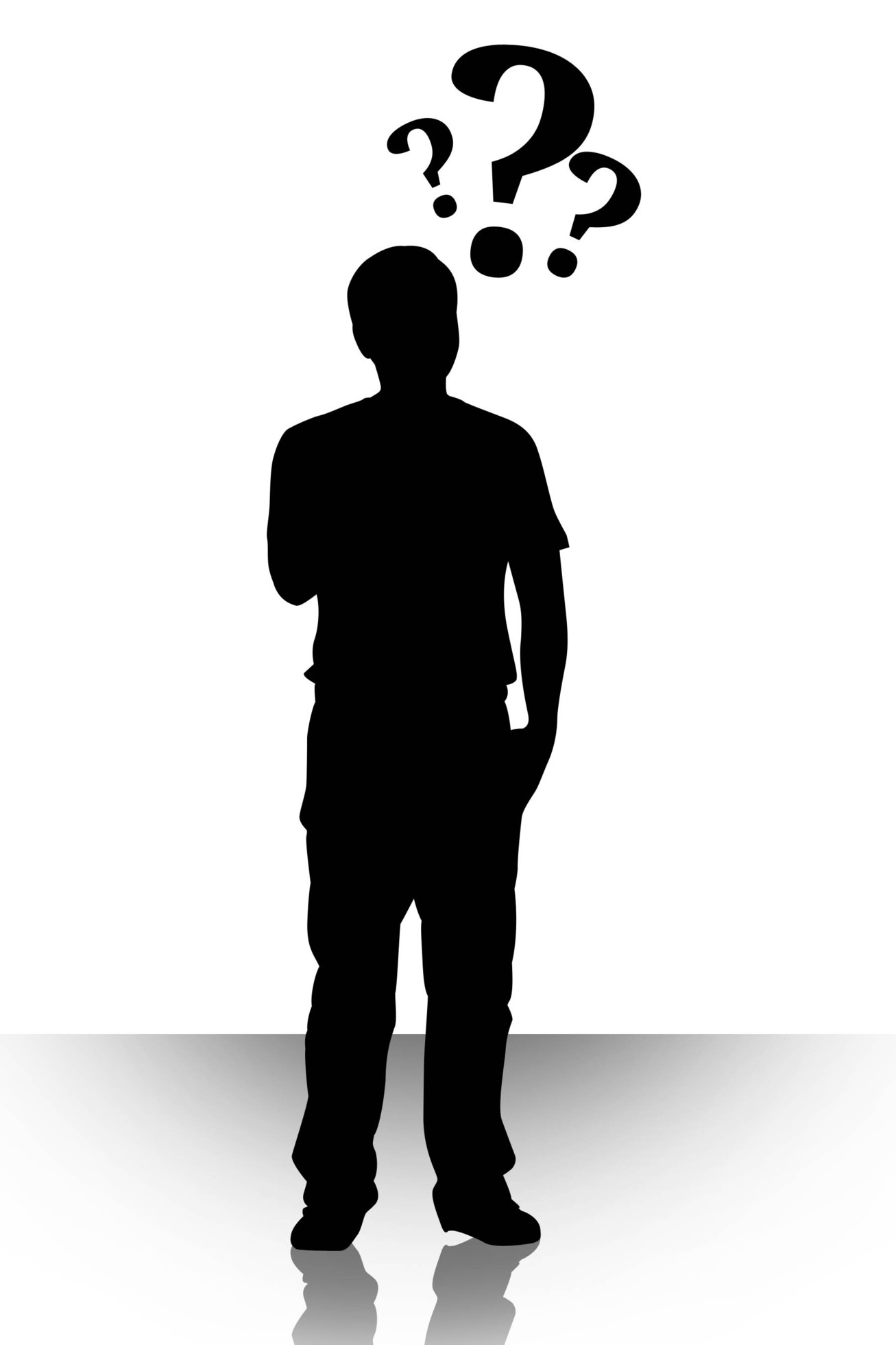 Thinking man silhouette free clipart clipart transparent library Free Man Thinking Clipart, Download Free Clip Art, Free Clip ... clipart transparent library