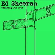 Ed Sheeran – Thinking Out Loud clip art transparent stock