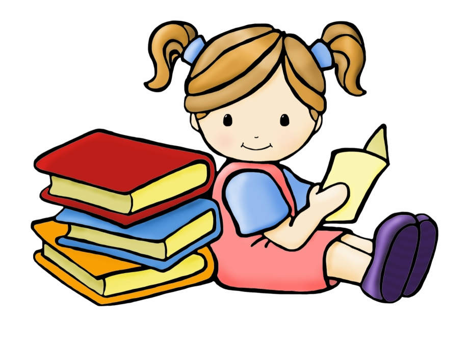 Thinking reader clipart jpg freeuse library Kid Reading Kids Reading Clip Art - Reading Clipart Free PNG ... jpg freeuse library