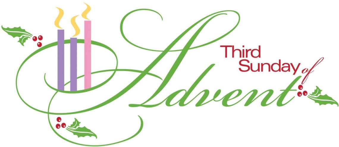 Third sunday in advent clipart banner freeuse library THIRD SUNDAY OF ADVENT, YEAR A (11-12-2016) – OLQP SouthB banner freeuse library