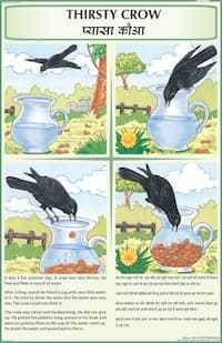 Thirsty crow clipart jpg transparent library Thirsty crow story clipart 7 » Clipart Portal jpg transparent library