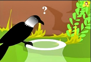 Thirsty crow clipart graphic stock Clipart Thirsty Crow | Free Images at Clker.com - vector ... graphic stock