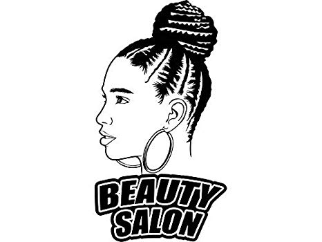 This american life clipart clip royalty free Amazon.com: EvelynDavid Black Woman Braids Hairstyle Stylish ... clip royalty free