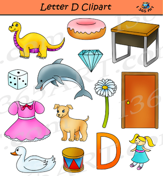 This and that clipart picture transparent Letter D Clip Art & Worksheets | Teachers Pay Teachers picture transparent