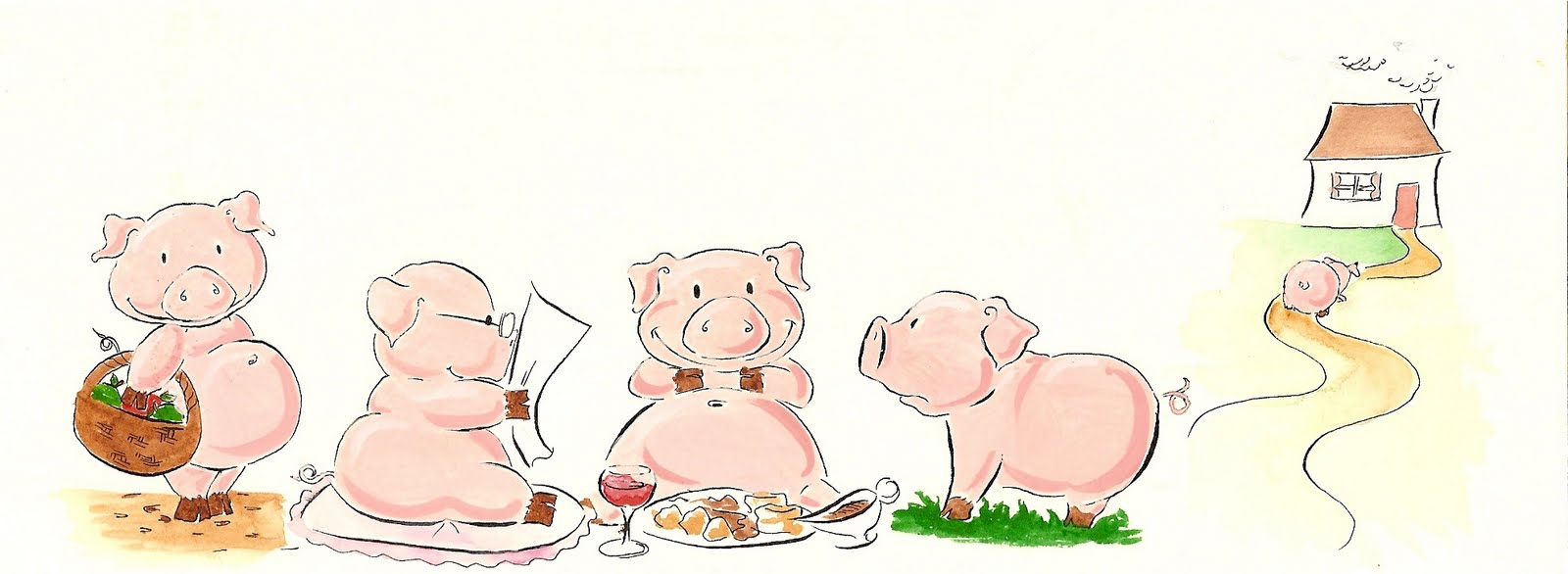 This little piggy clipart clip stock This little piggy went to market clipart - ClipartFest clip stock
