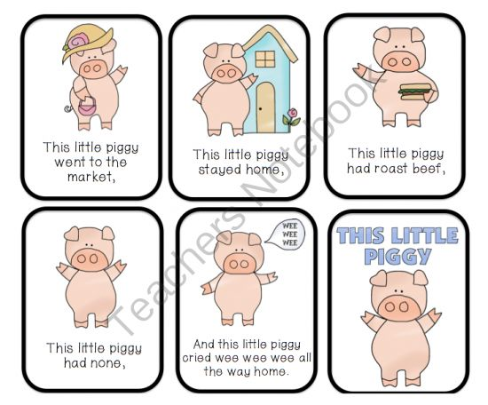 This little piggy clipart image library library This Little Piggy Nursery Rhyme | This Little Piggy Went to the ... image library library