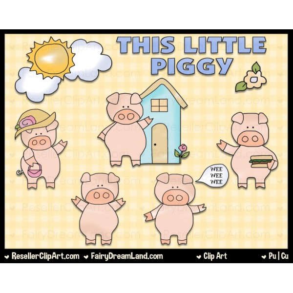 This little piggy clipart png stock This little piggy clipart - ClipartFest png stock