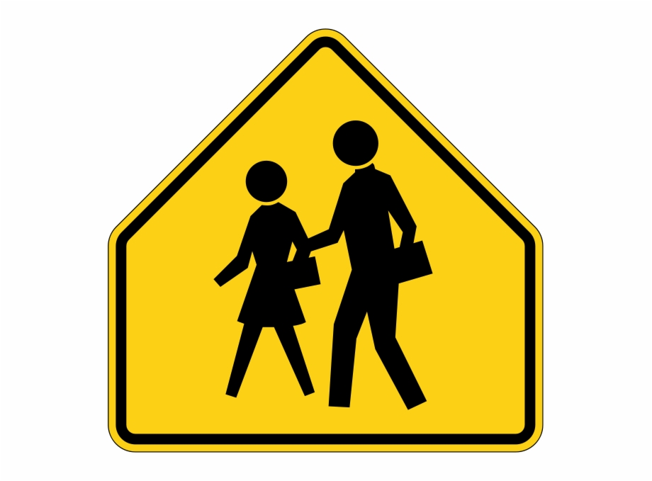 This means you clipart clip freeuse stock This Sign Means You Are Near A School - School Zone Sign ... clip freeuse stock