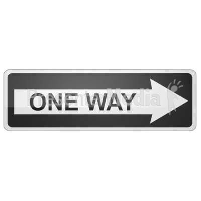 This way sign clipart picture library stock Long One Way Sign Right - Signs and Symbols - Great Clipart ... picture library stock