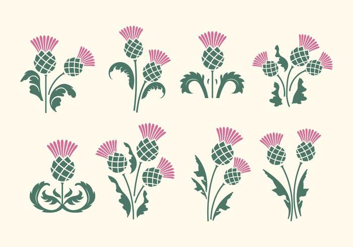 Thistle clipart free jpg library library Free Thistle Vector - Download Free Vectors, Clipart ... jpg library library