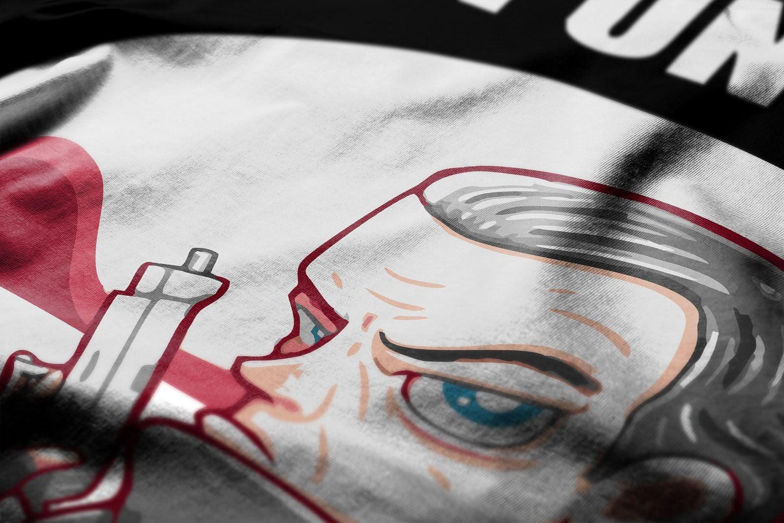 Thomas jane clipart vector freeuse download Thomas Jane ClipArt Men\'s Full Sleeves T-Shirt Black vector freeuse download