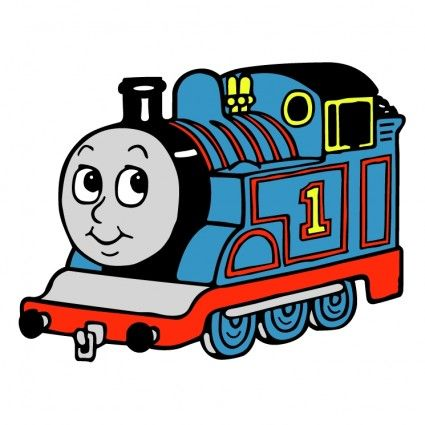 Thomas the tank clipart free svg freeuse stock Thomas the tank engine Free vector for free download (about ... svg freeuse stock