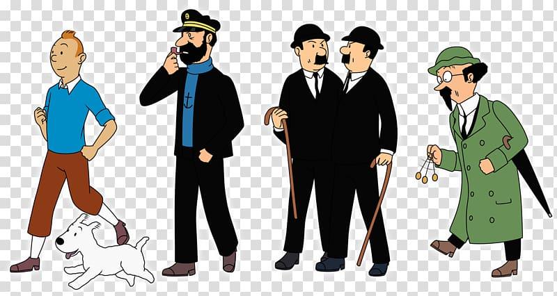 Thompson clipart jpg free Captain Haddock The Adventures of Tintin Thomson and ... jpg free